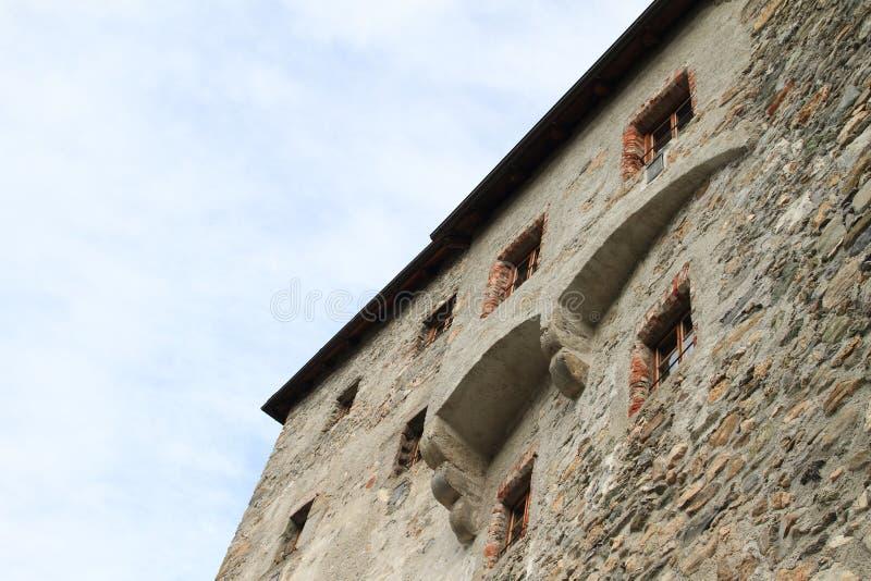 Kaprun castle. Medieval castle Kaprun (Alps, Austria stock photography