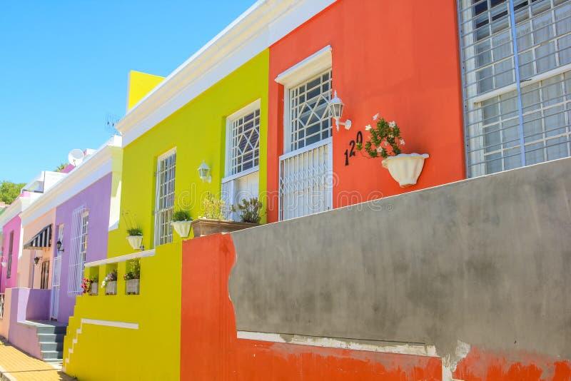 Kapstadt BO-Kaap stockfoto