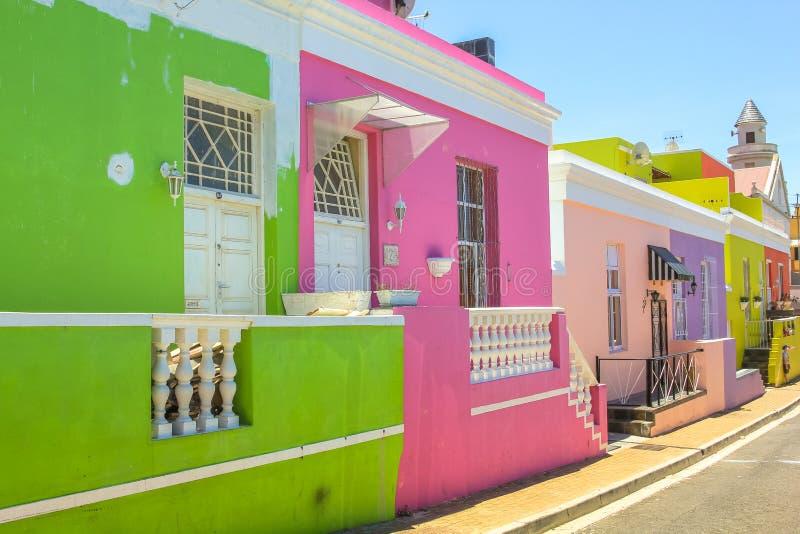 Kapstadt BO-Kaap stockfotografie