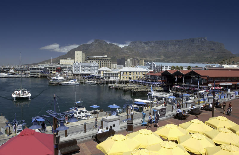 Kapstadt - Tabellen-Berg - Südafrika lizenzfreie stockfotos