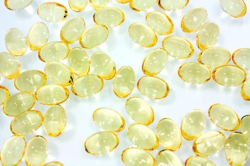 kapsuły fishoil zdjęcie royalty free