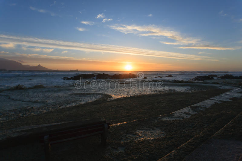 Kapsztad panorama obraz royalty free