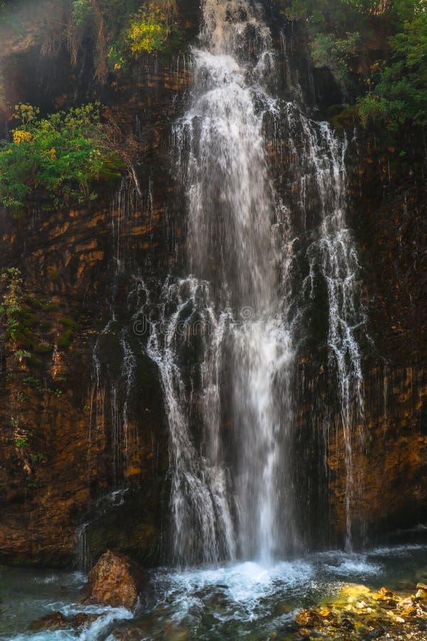 Kapuzbasi Waterfall in Kayseri Turkey stock photography