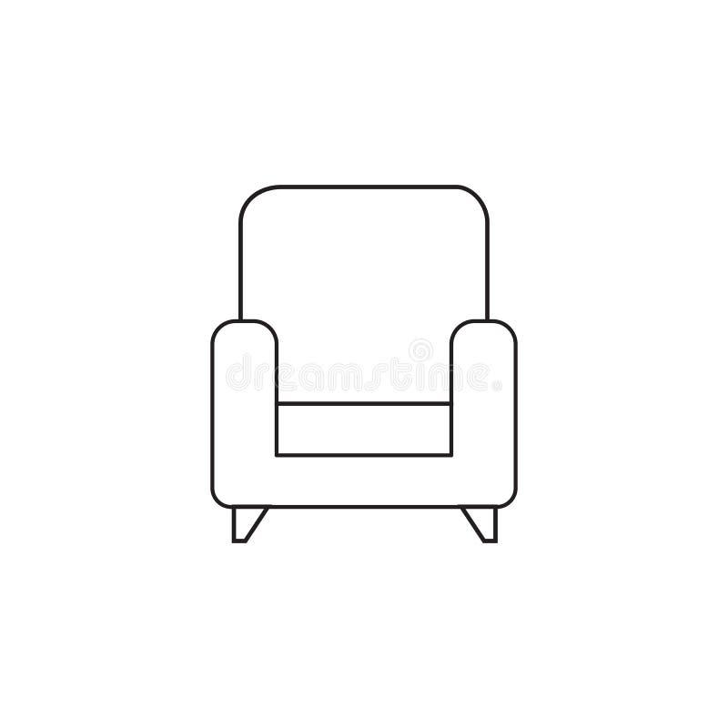 Karło cienka kreskowa ikona, konturu loga wektorowa ilustracja, linea ilustracji