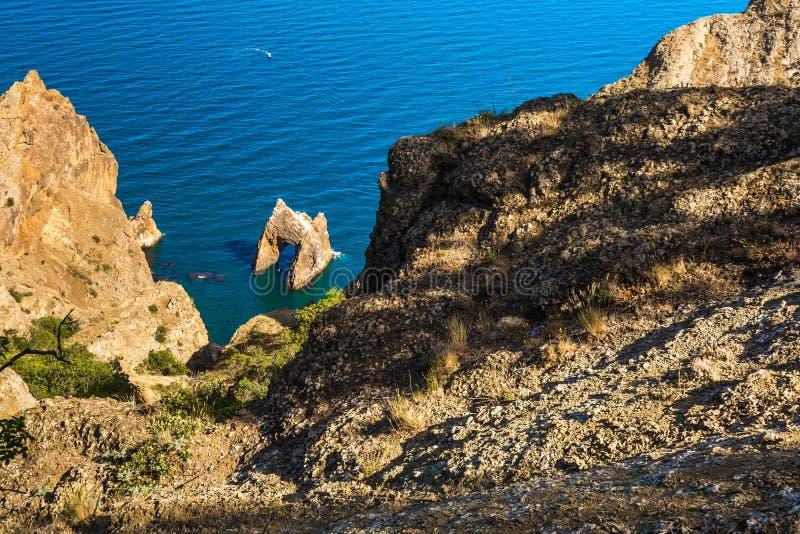 Kara-Dag Nature Reserve royalty free stock image