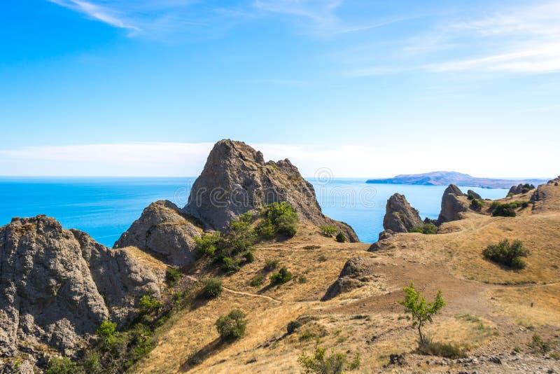 Kara-Dag Nature Reserve foto de stock