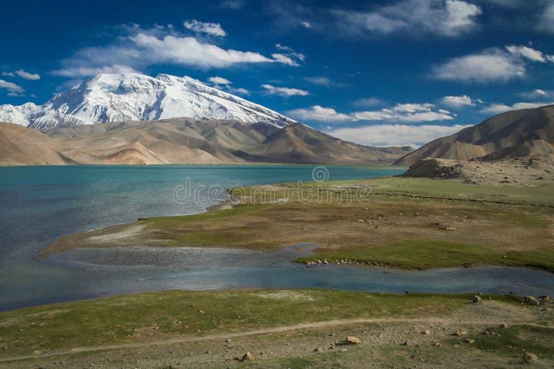 Kara Kul Lake fotografia de stock