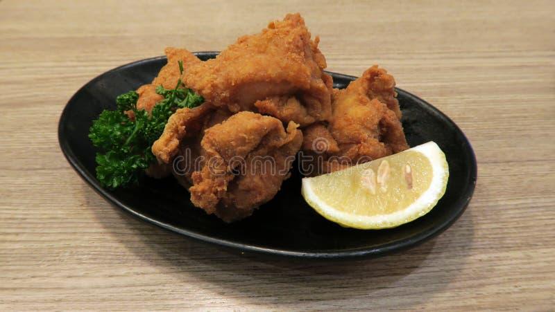 Kara-leeftijd Japans Knapperig Fried Chicken royalty-vrije stock afbeeldingen