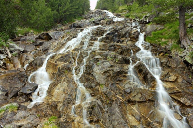 Karaalanica waterfall stock photography