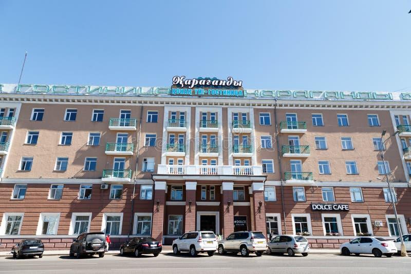 Karaganda, Καζακστάν - 1 Σεπτεμβρίου 2016: Ξενοδοχείο - Karaganda στοκ εικόνα με δικαίωμα ελεύθερης χρήσης