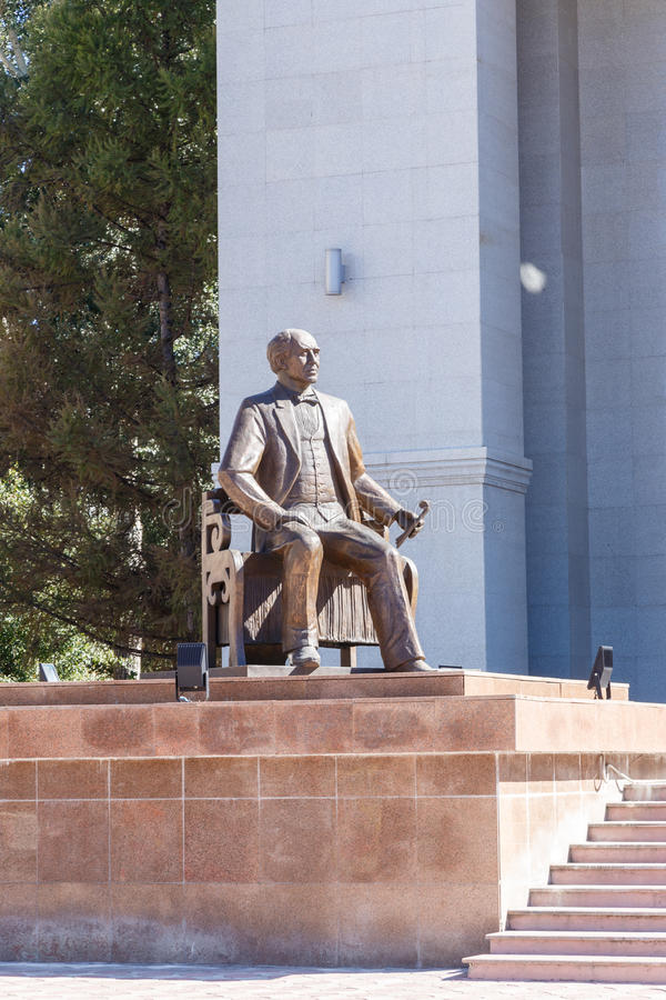 Karaganda, Kazajistán - 1 de septiembre de 2016: Monumento KS Stanislav fotografía de archivo