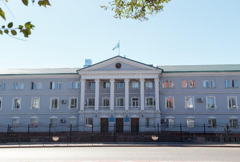 Karaganda, Kazakhstan - 1er septembre 2016 : Le département de national image libre de droits