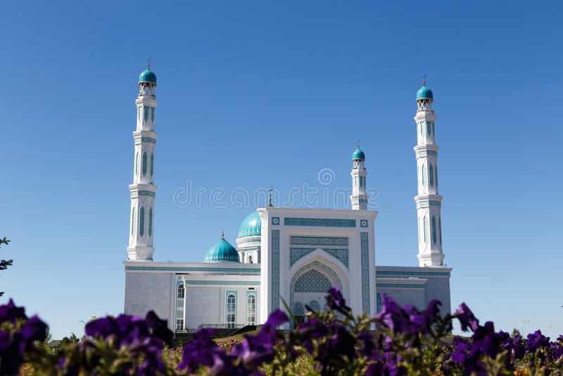Karaganda oblast meczet Karaganda, Kazachstan fotografia stock