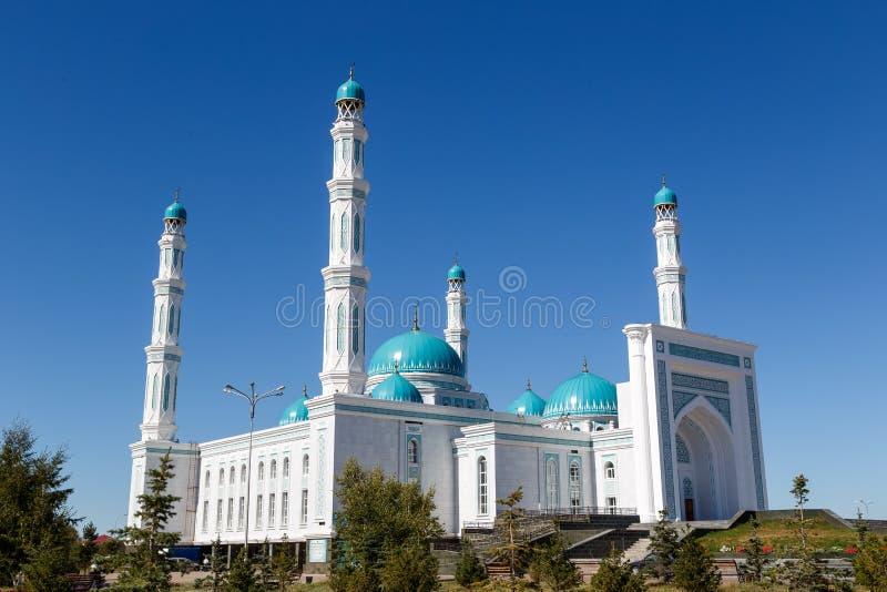 Karaganda oblast meczet Karaganda, Kazachstan zdjęcie royalty free