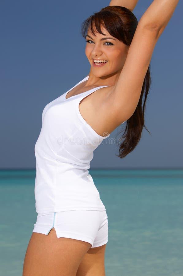 karaibska fitness obraz stock