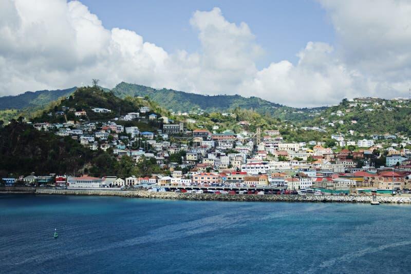 karaibska wyspa obraz stock
