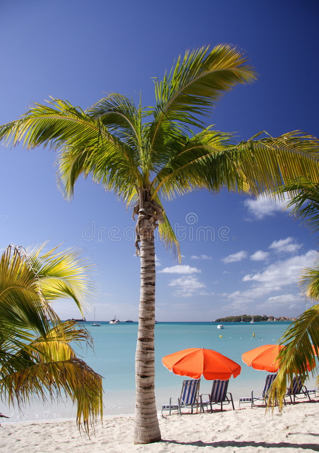 karaiby sen fotografia stock