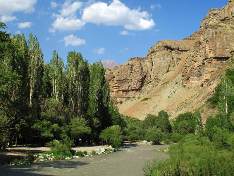 Karaj River stock photography