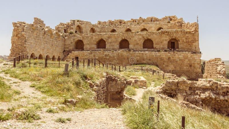 Karak em Jordânia imagem de stock royalty free