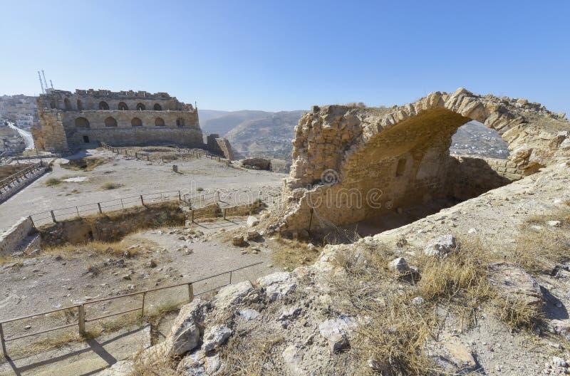 Karak Jordanien royaltyfri bild
