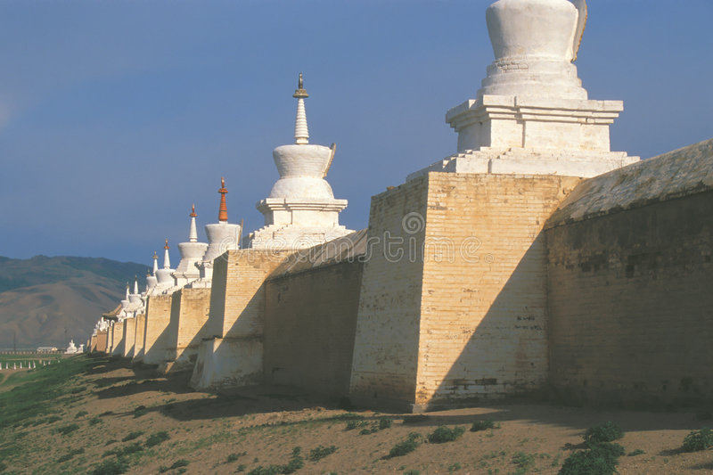 Karakorum, #1 - Mongolia imagenes de archivo