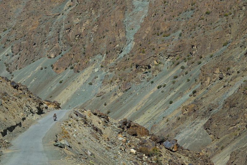 Karakorum highway. Northern Pakistan. stock photos