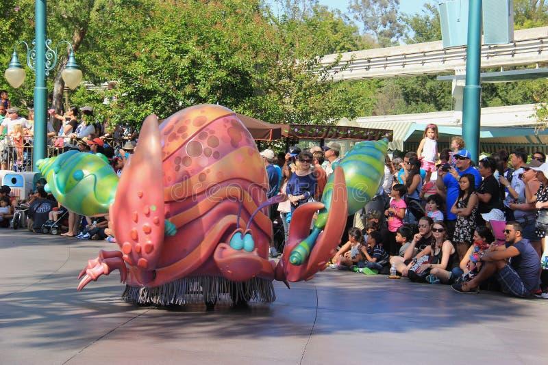 Karakter van Weinig Meermin in Disneyland stock foto's
