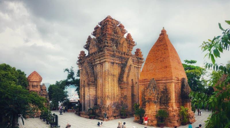 Karakteristisk byggande gränsmärke Vietnam Dalat royaltyfria bilder