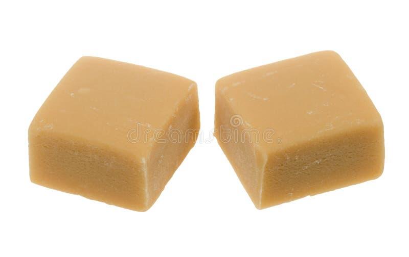 Karamelltoffeesüßigkeit lizenzfreie stockfotografie
