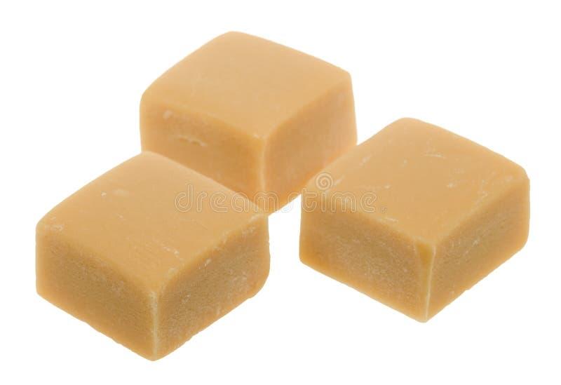 Karamelltoffeesüßigkeit stockfoto