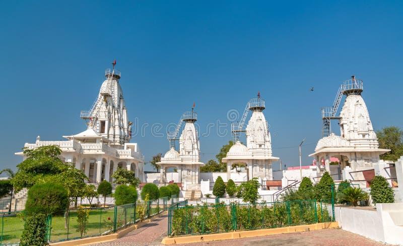 Karandiya在Patan -古杰雷特,印度改变方向Dada,印度寺庙 免版税库存照片