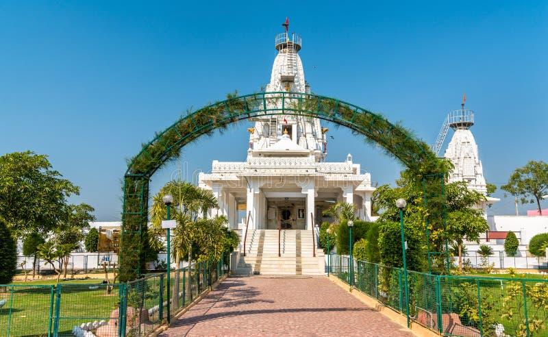 Karandiya在Patan -古杰雷特,印度改变方向Dada,印度寺庙 库存图片