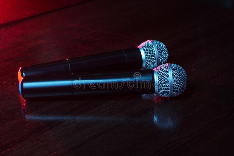 karaoke στοκ εικόνα με δικαίωμα ελεύθερης χρήσης