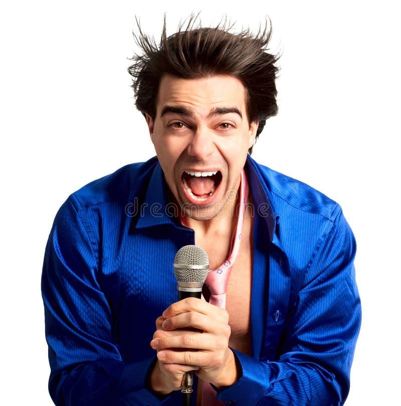 karaoke υπογράφων στοκ φωτογραφία