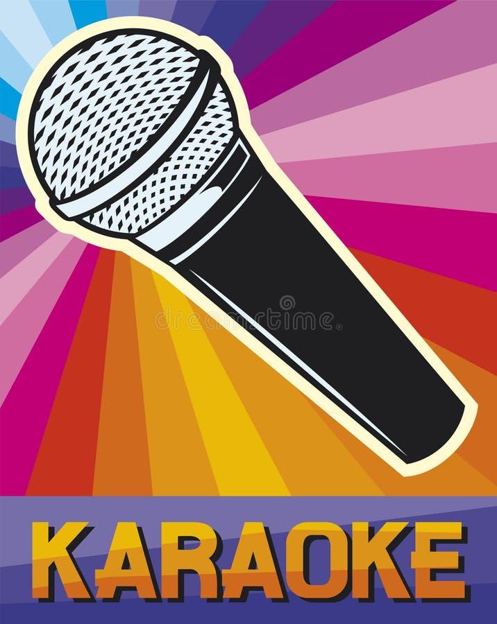 karaoke ilustracja wektor