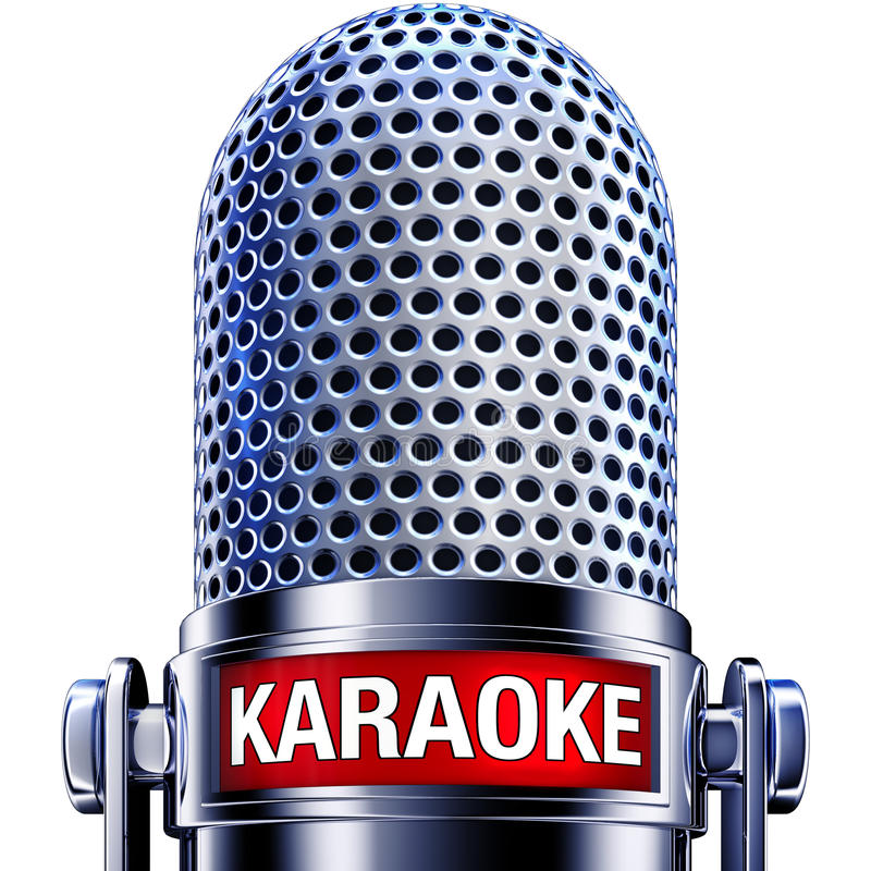Karaoke royalty illustrazione gratis