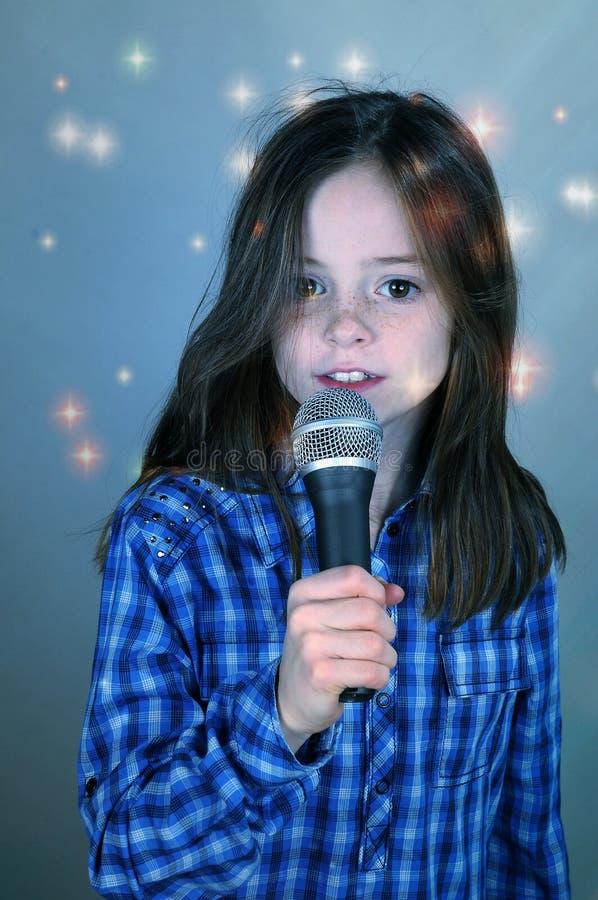 Karaoke royalty-vrije stock afbeelding