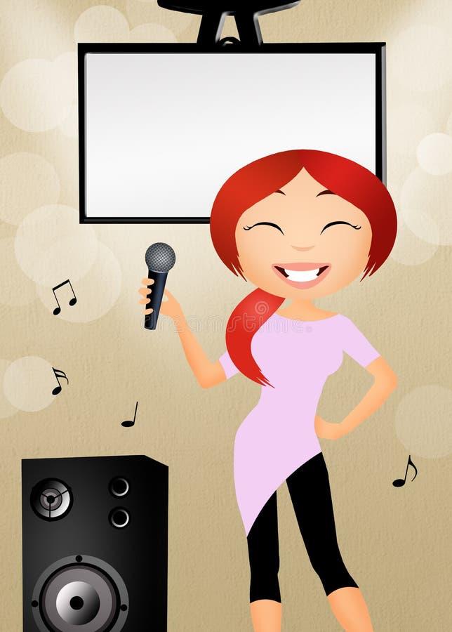karaoke vector illustratie