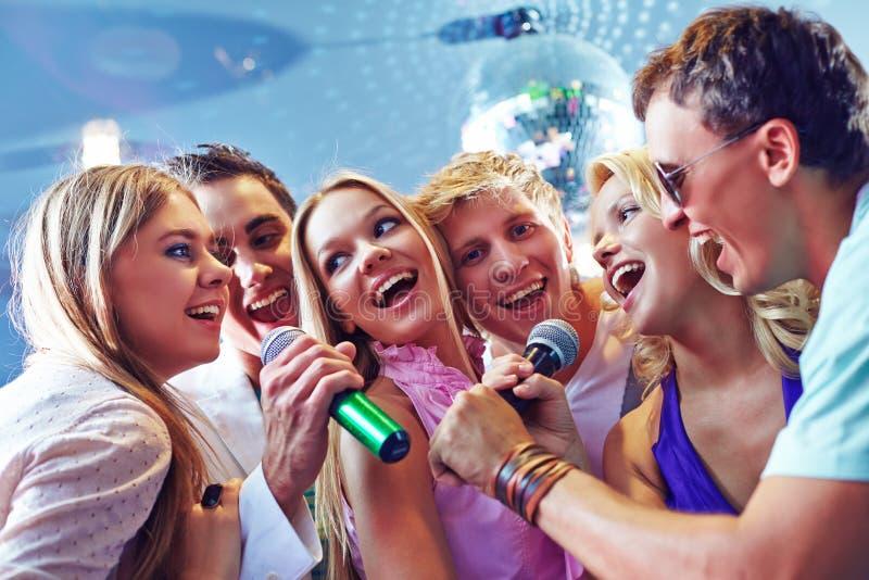 karaoke fotografía de archivo libre de regalías