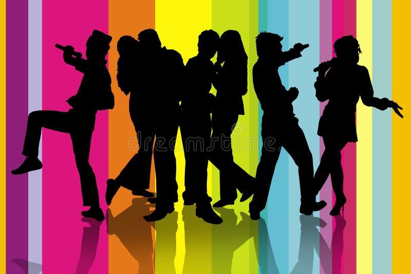 Download Karaoke Party Stock Image - Image: 7494751