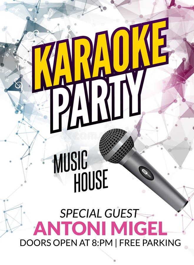 Karaoke party invitation poster design template karaoke night download karaoke party invitation poster design template karaoke night flyer design music voice concert stopboris Choice Image