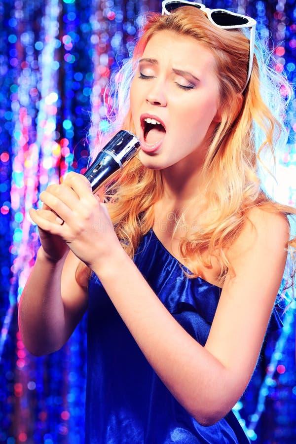 Karaoke song royalty free stock photo