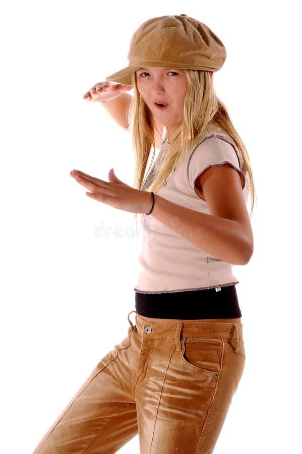 karate κοριτσιών στοκ φωτογραφία