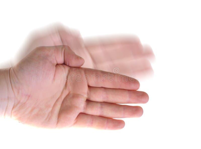 karate χεριών κύμα στοκ φωτογραφία με δικαίωμα ελεύθερης χρήσης