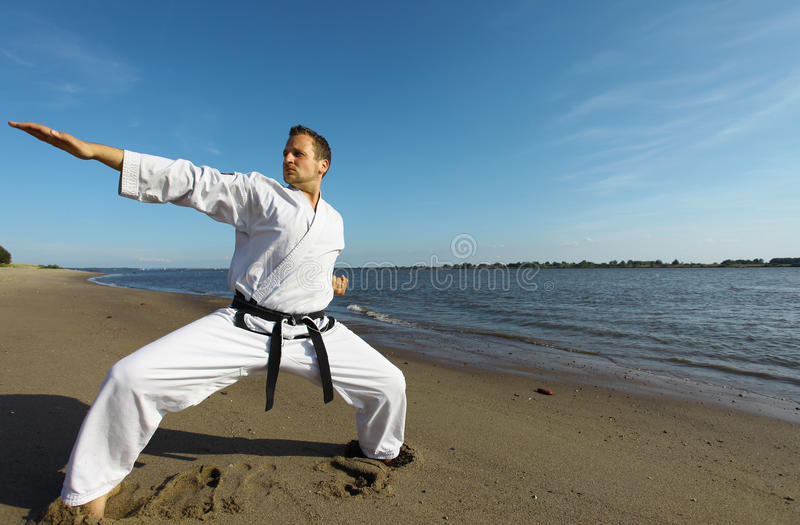 Karate stock foto's