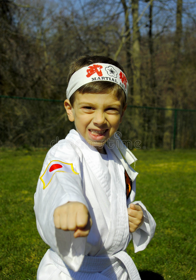 Karate lizenzfreies stockbild