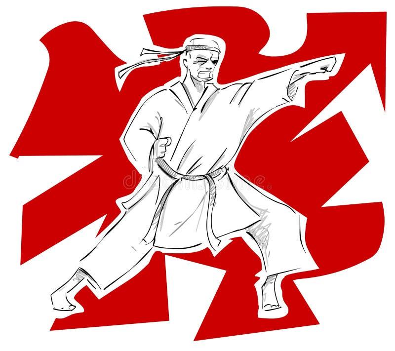 karate ελεύθερη απεικόνιση δικαιώματος