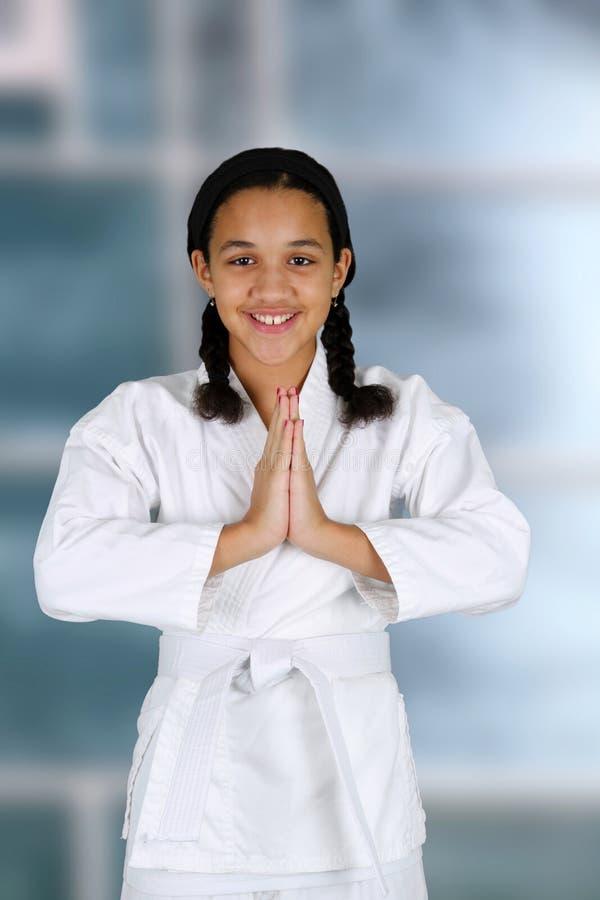 Karate royalty-vrije stock fotografie