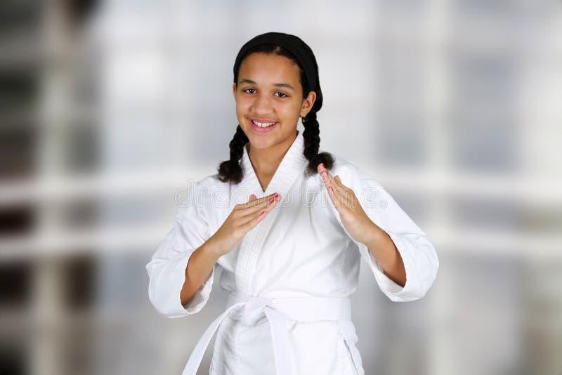 Karate στοκ φωτογραφία με δικαίωμα ελεύθερης χρήσης