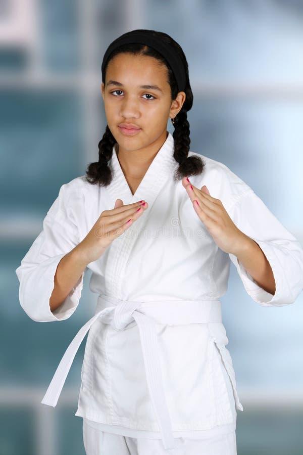 Download Karate stock photo. Image of karate, girl, uniform, fighting - 26226312